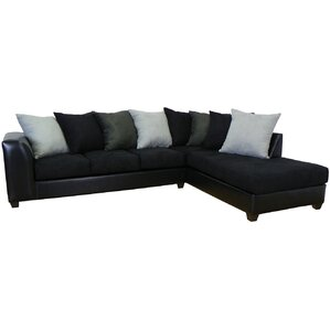Black Sectional Couches black sectional sofas you'll love | wayfair