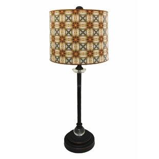 Buy luxury Beyers Crystal 28 Buffet Lamp By Bloomsbury Market