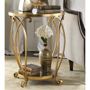 Katelynn Round End Table by Astoria Grand