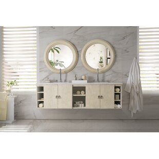 Hobbs 72 Double Bathroom Vanity by Ivy Bronx