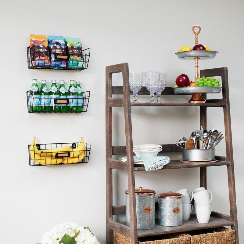 Storage Organizer With Wall Baskets