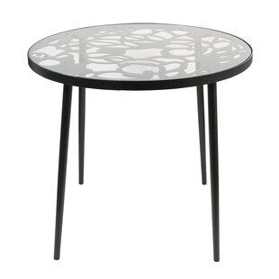 Ollie Glass Bistro Table by Brayden Studio