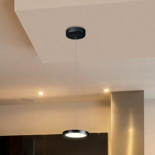 Orren Ellis Northville 1-Light LED Geometric Pendant