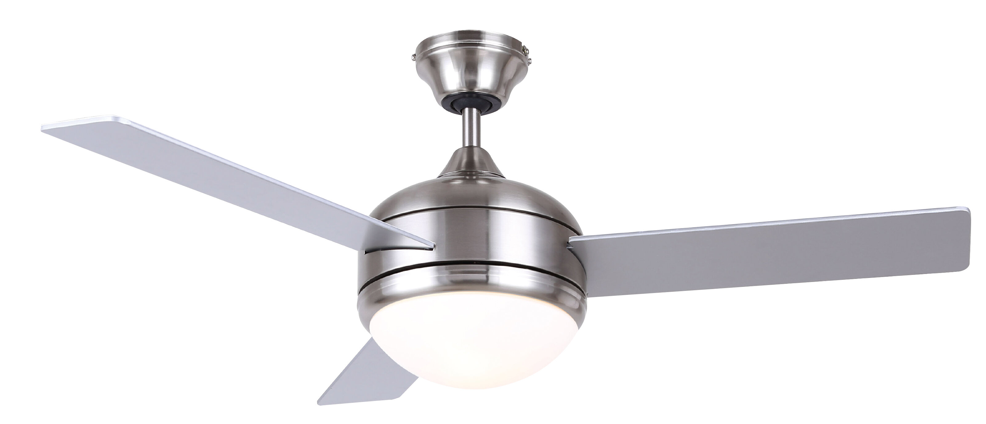 48 Dennis 3 Blade Standard Ceiling Fan With Remote Control And Light Kit Included Reviews Joss Main