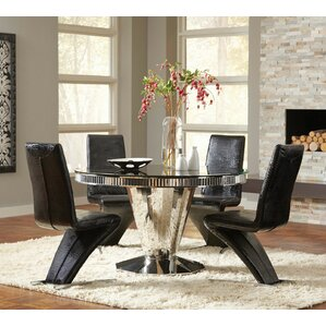 Fellini 5 Piece Dining Set by Infini Furnishings