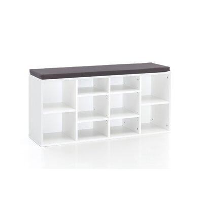 Gepolsterte Sitzbank Wilford mit Stauraum | Küche und Esszimmer > Sitzbänke > Einfache Sitzbänke | Marlow Home Co.