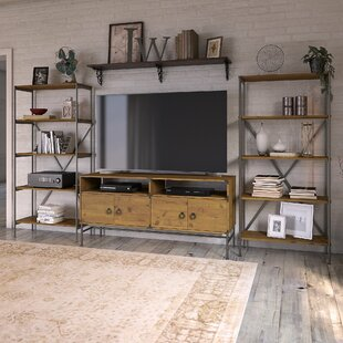 Ironworks Entertainment Center for TVs up to 65 by Kathy Ireland Home by Bush Furniture