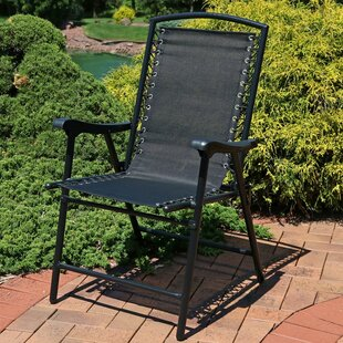 Hardesty Mesh Folding Camping Chair
