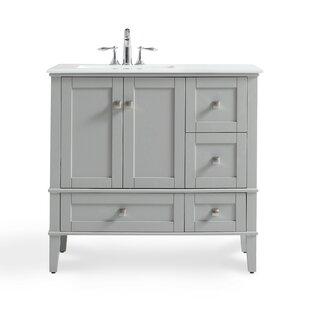 left offset vanity 48 wayfair rh wayfair com  48 inch bathroom vanity with left offset sink