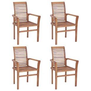 Wilridge Stacking Garden Chair (Set Of 4) By Sol 72 Outdoor