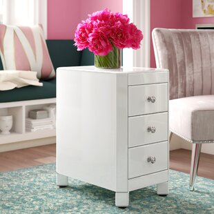 House of Hampton Thurston Reverse Painted Glass End Table
