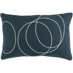 Bold Wool Throw Pillow