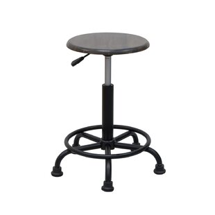 Gneiting Retro Height Adjustable Lab Stool