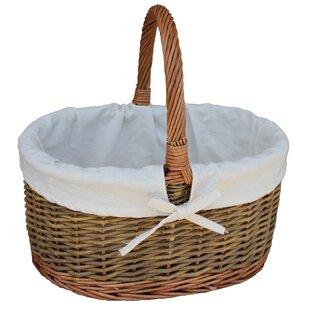 Child's Country Oval Picnic Basket By Brambly Cottage