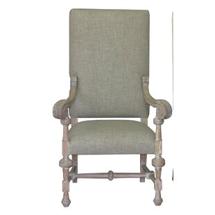 Lenora Solid Wood Upholstered Dining Chair One Allium Way
