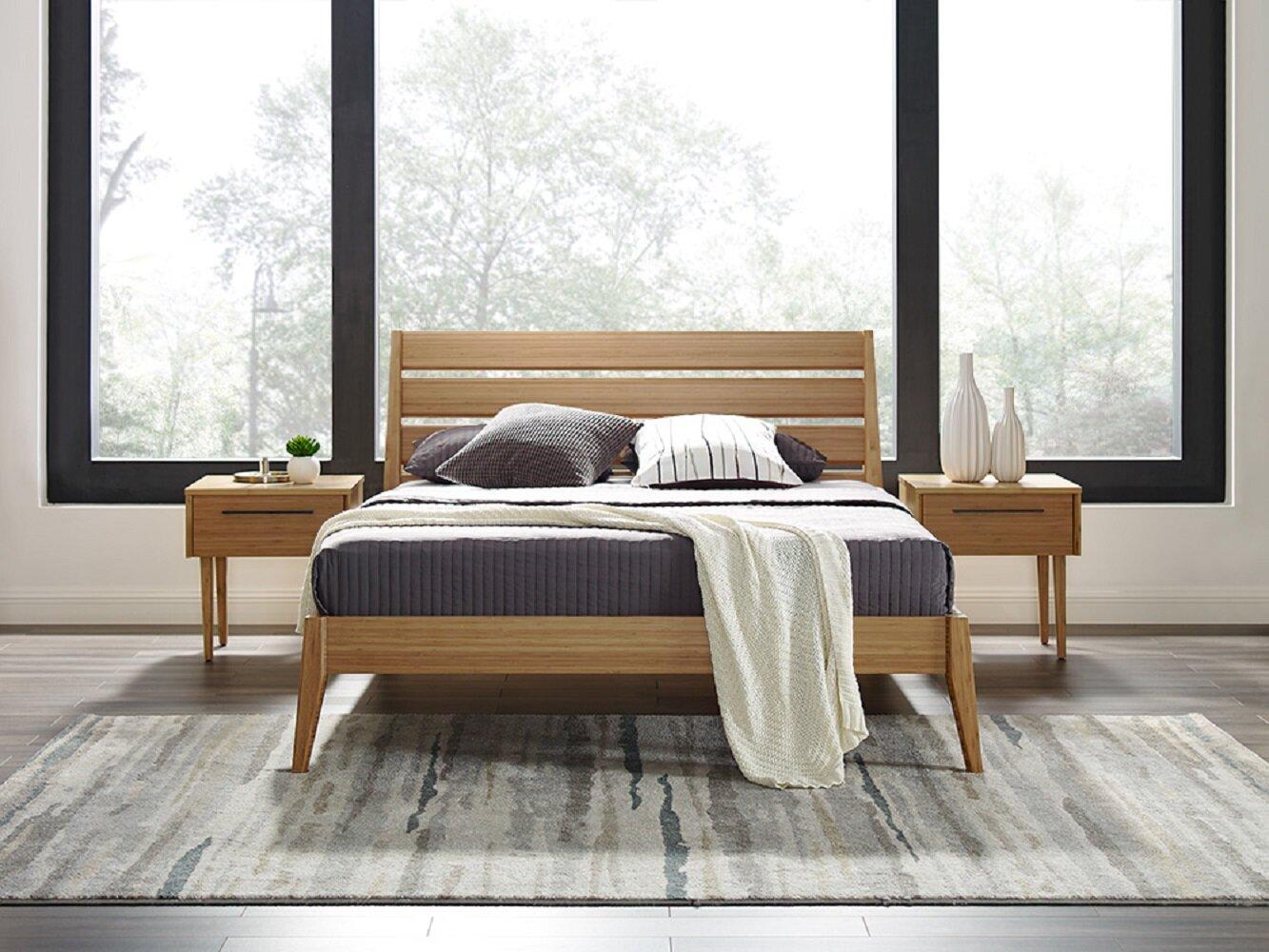 Spiva Solid Wood Platform Bed Reviews Allmodern