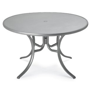 Embossed Aluminum Tables Metal Dining Tab..