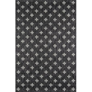 Umbria Charcoal Indoor/Outdoor Area Rug