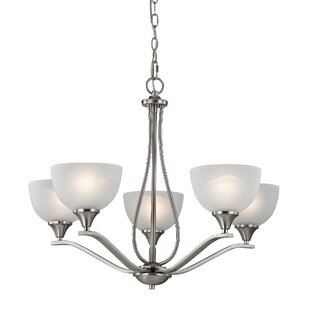 Darby Home Co Gallimore 5-Light Shaded Chandelier