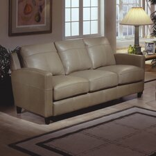 Skyline Leather Sofa by Omnia Leather