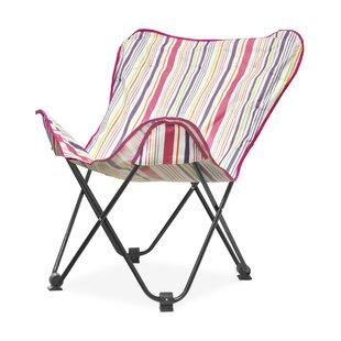 Idea Nuova Urban Shop Surfer Stripe Butterfly Lounge Chair