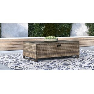 Oceanside Outdoor Wicker Coffee Table