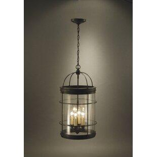 Chandelier 4-Light Lantern Pendant by Northeast Lantern