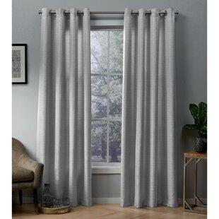 charcoal gray curtains wayfair rh wayfair com