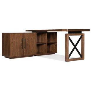 Hooker Furniture Elon 2 Piece L-shaped Desk Office Suite