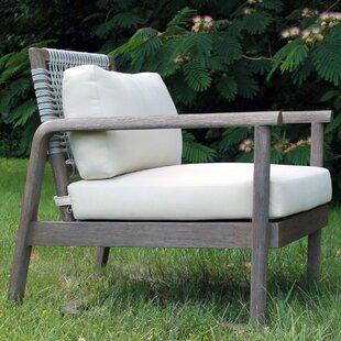 Alfresco Teak Patio Chair with Cushions