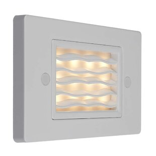 Crown 1-Light LED Step Light by Symple Stuff