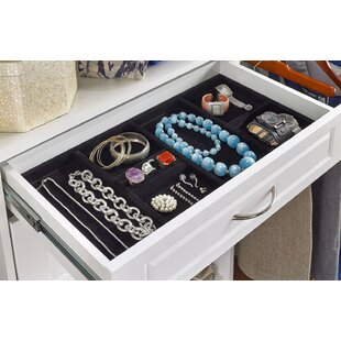 Affordable SuiteSymphony Jewelry Accessory Tray By ClosetMaid