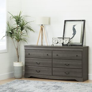 Haymeadow 6 Drawer Double Dresser by Three Posts