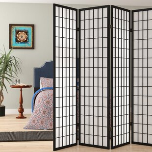 Great Price Marissa Shoji 5 Panel Room Divider By World Menagerie