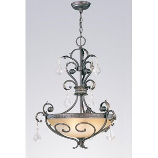 Classic Lighting Avalon 3-Light Bowl Pendant