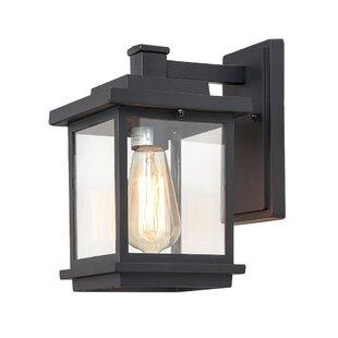 Find for Eicher Outdoor Wall Lantern By Breakwater Bay