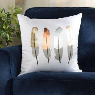 Dorsett Feather Throw Pillow