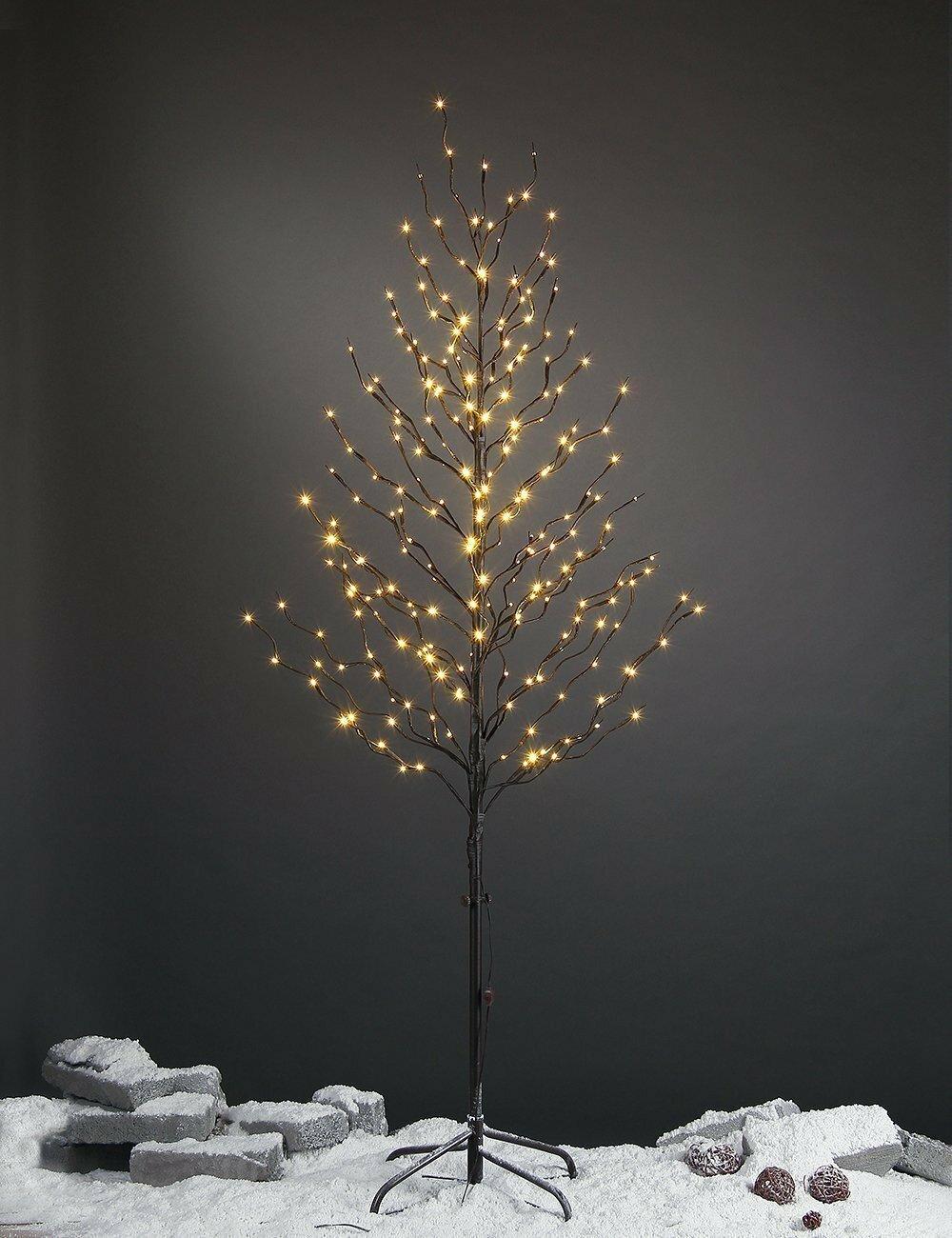 The Holiday Aisle Pre Lit Light Star Tree 240 Light Led Lighted Tree Birch Lane
