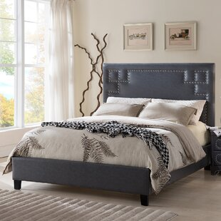 Willa Arlo Interiors Chianna Queen Upholstered Platform Bed