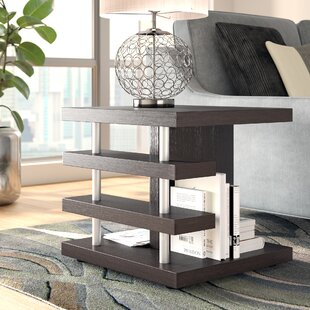 Athens End Table by Ebern Designs