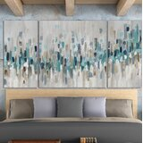 Blue Staccato - Painting on Canvas
