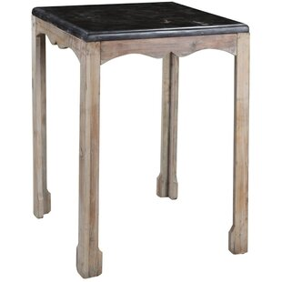 Dayne Side Table in Gray Wash
