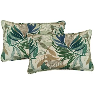 Arin Indoor/Outdoor Lumbar Pillow (Set of 2)