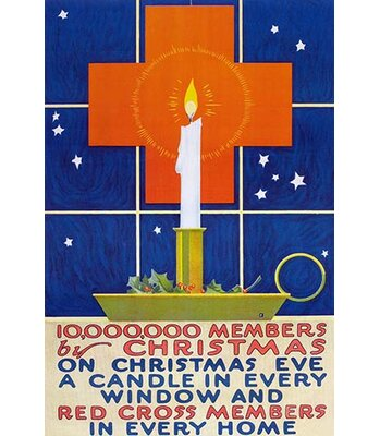 10000000 Members By Christmas Vintage Advertisement Buyenlarge Size 42 H x 28 W x 15 D