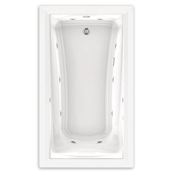 American Standard Green Tea 72 X 42 Drop In Combination Bathtub Wayfair