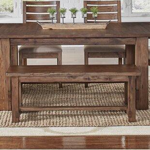 Mistana Trevion Wood Bench