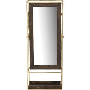 Brayden Studio Cooper Rectangular Framed Wall Mirror