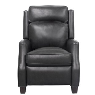 Finest Cream Colored Leather Recliner | Wayfair AS06