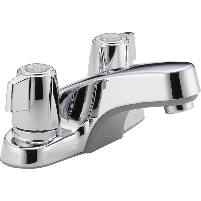 Peerless Faucets Lavatory Faucet Double Handle & Reviews | Wayfair.ca