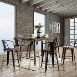 Ealy 7 - Piece Counter Height Dining Set by Williston Forge